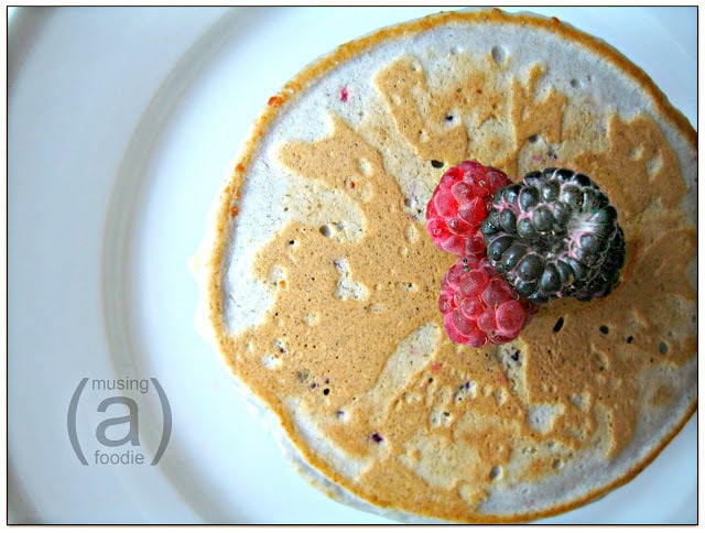 how to make pancakes, berry recipes, fresh raspberry recipes, easy breakfast recipes