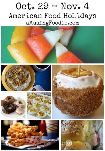 american food holidays, food holidays