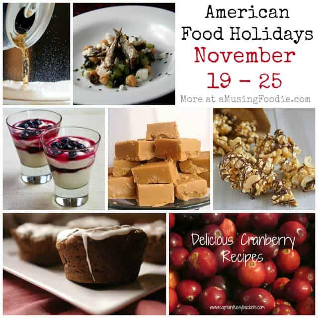 food holidays, american food holidays, november food holidays