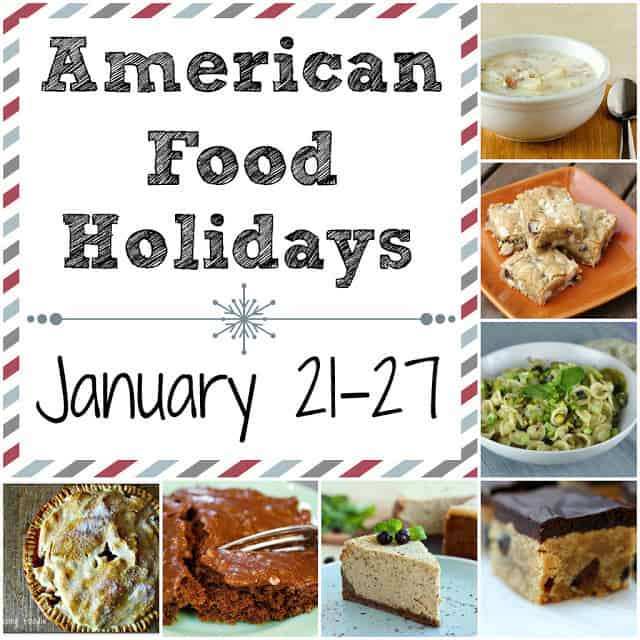 american food holidays, national food holidays, food holidays, january food holidays
