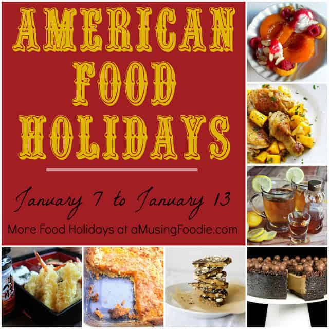 american food holidays, january food holidays, national food holidays, food holidays