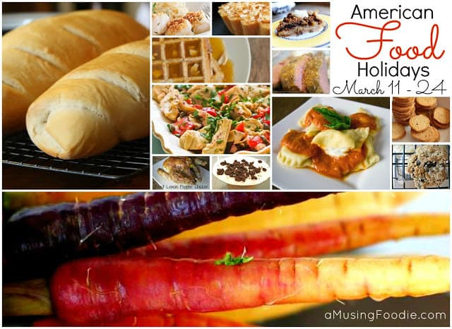 american food holidays, national food holidays, food holidays, march food holidays