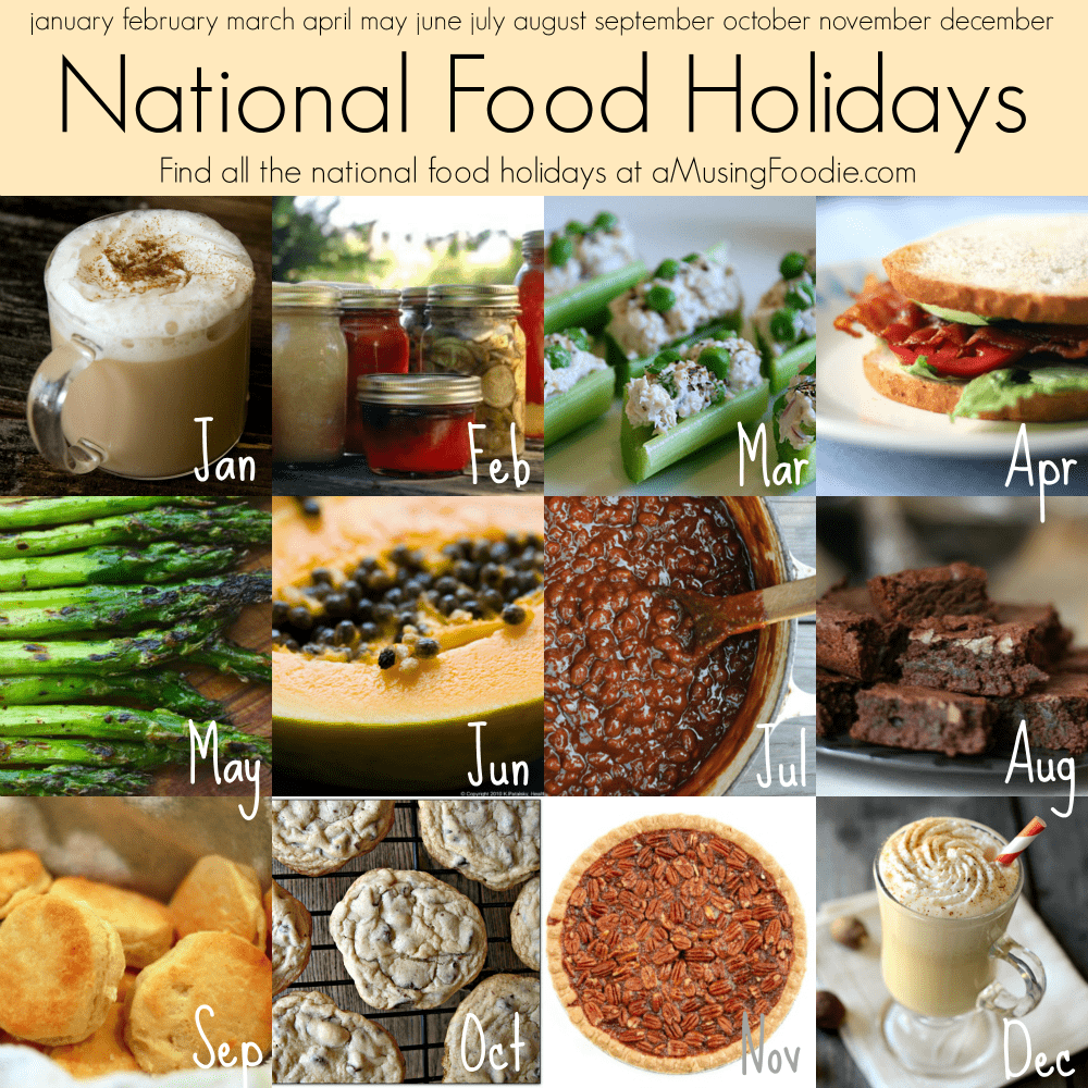 National Food Holidays American