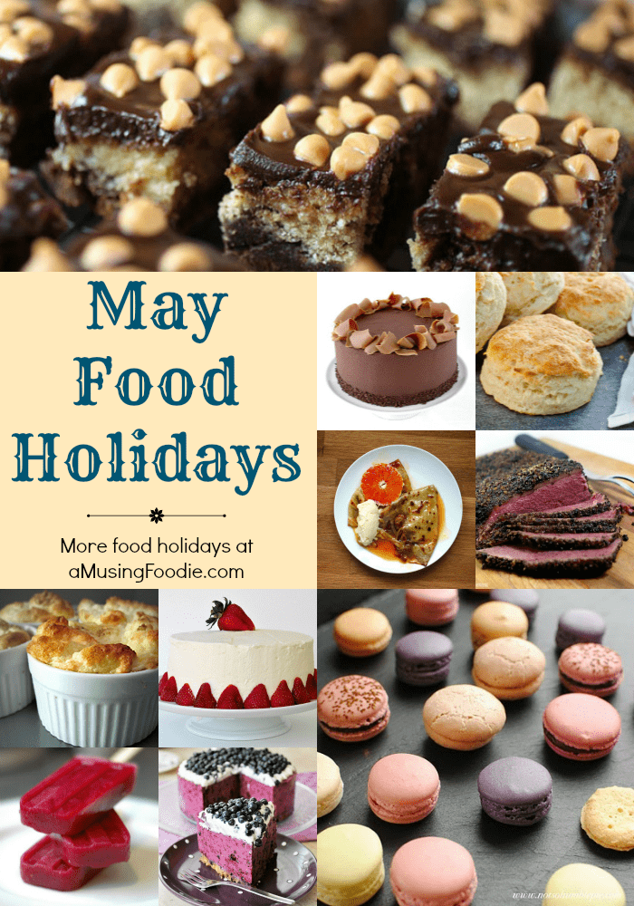 May National Food Holidays