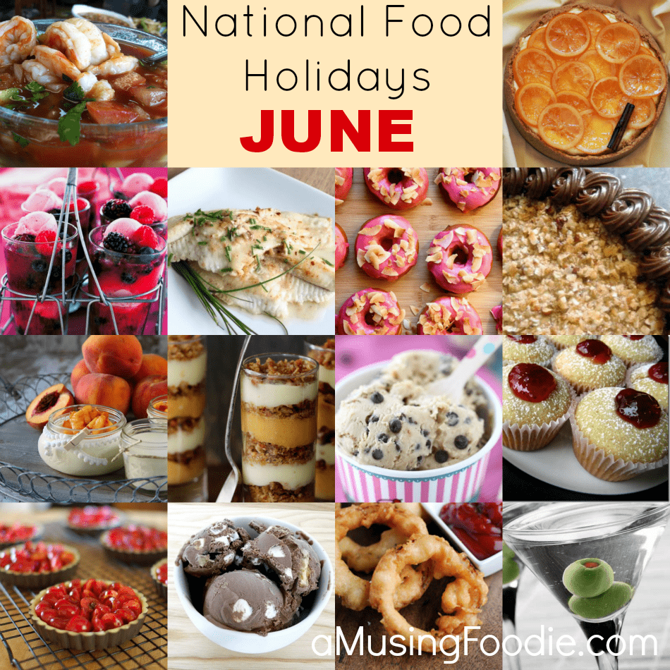 June National Food Holidays