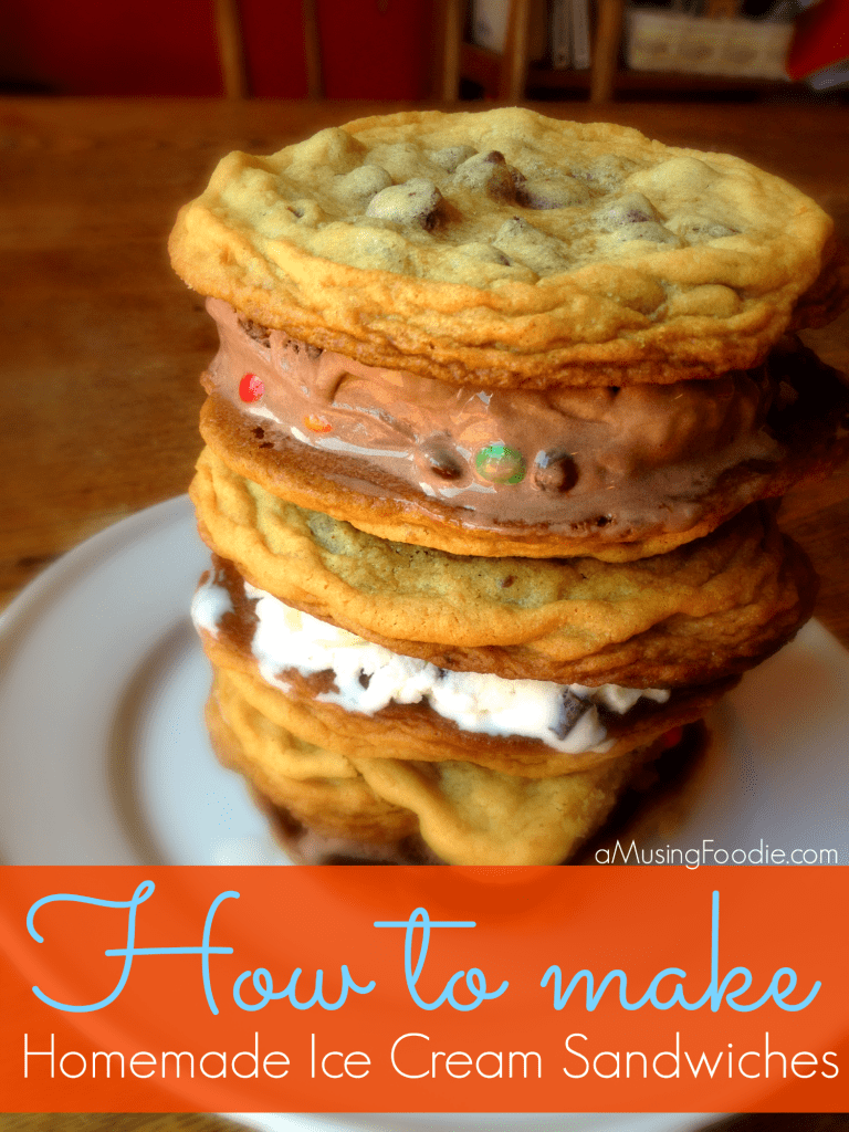 how to make homemade ice cream sandwiches, ice cream sandwiches, ice cream cookie sandwiches
