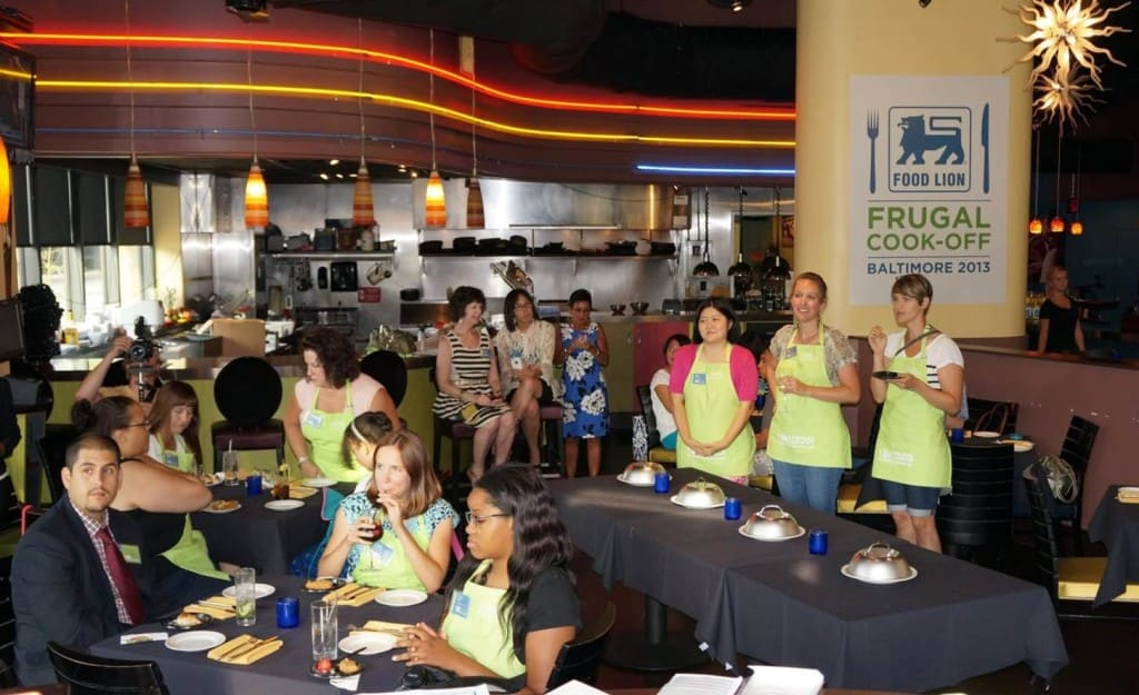 Food Lion Frugal Cook-Off Baltimore 1