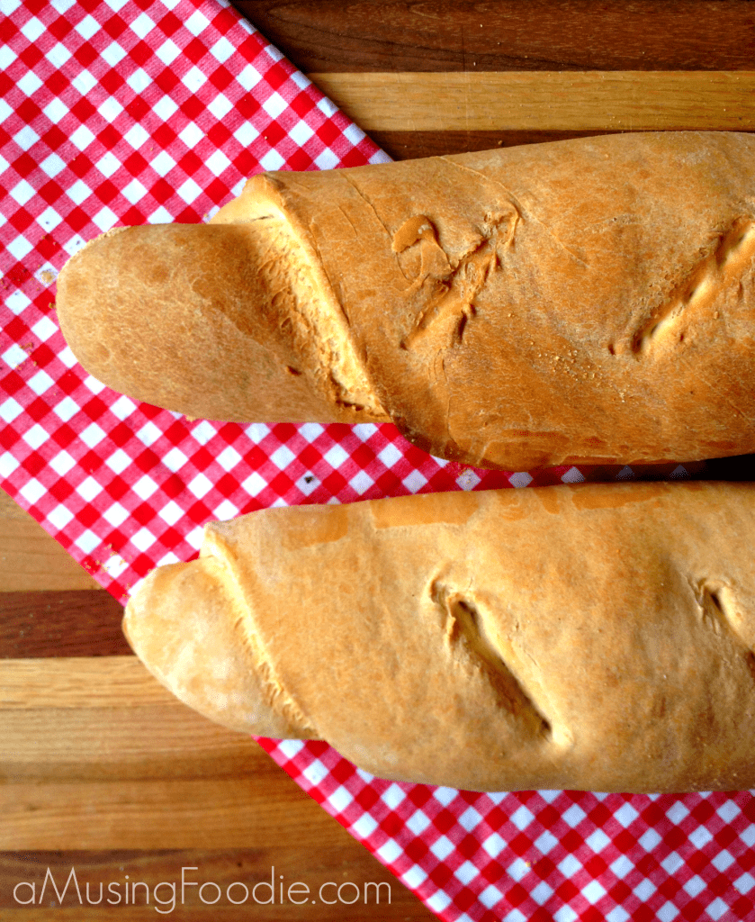 homemade french bread, homemade bread, homemade baguettes