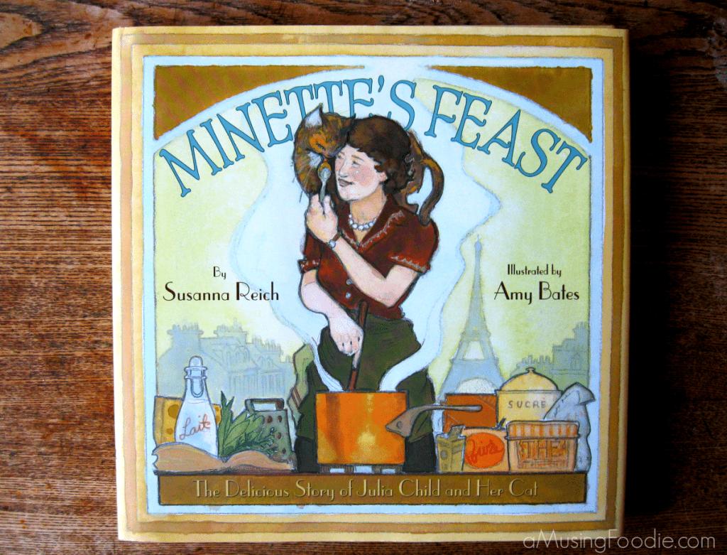 julia child, childrens cook books, julia child's cat, minette's feast
