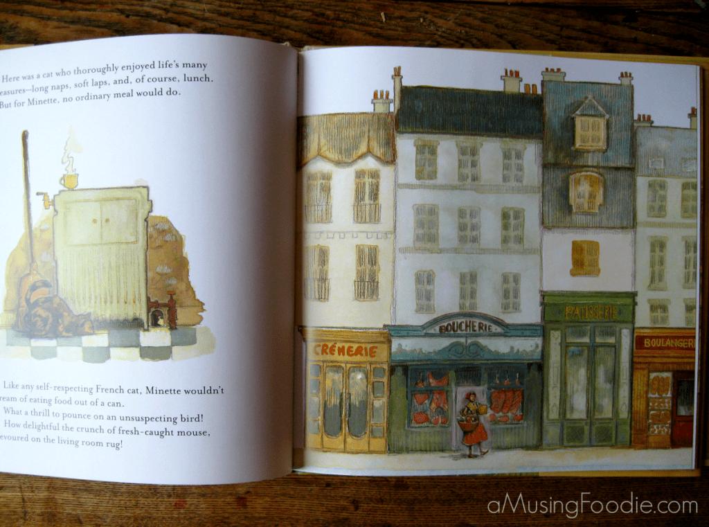 julia child, childrens books, minette's feast