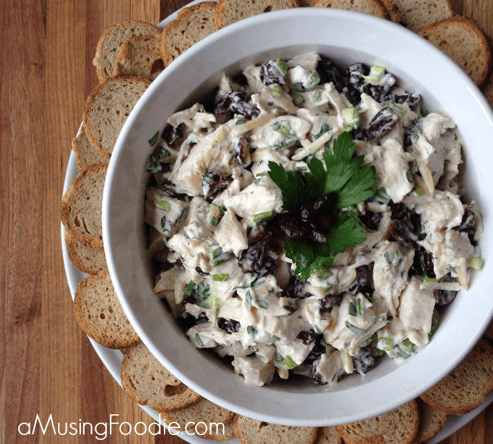 Chicken Salad with Yogurt