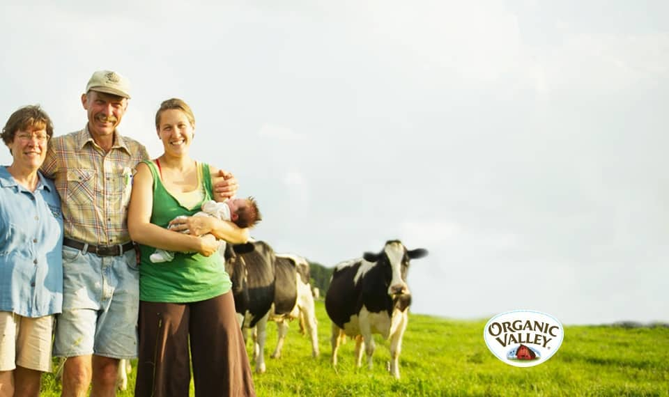 Stonyfield Organic uses Organic Valley Co-op