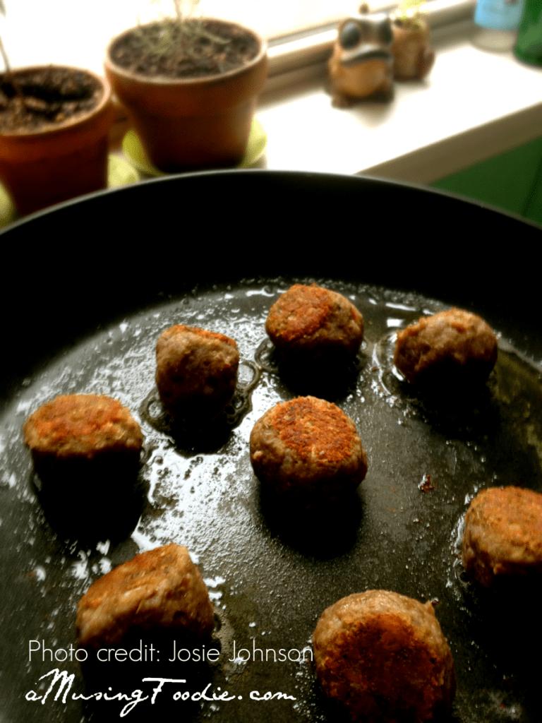 Vegetarian Meatball Sub