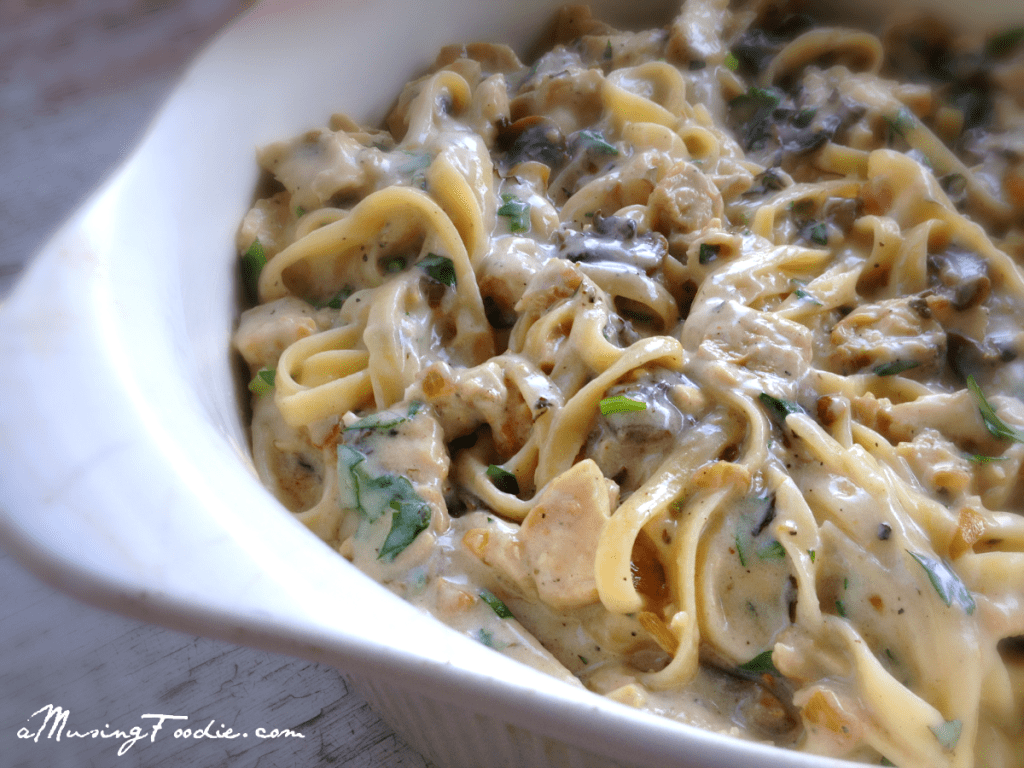 Homemade Chicken Tetrazzini