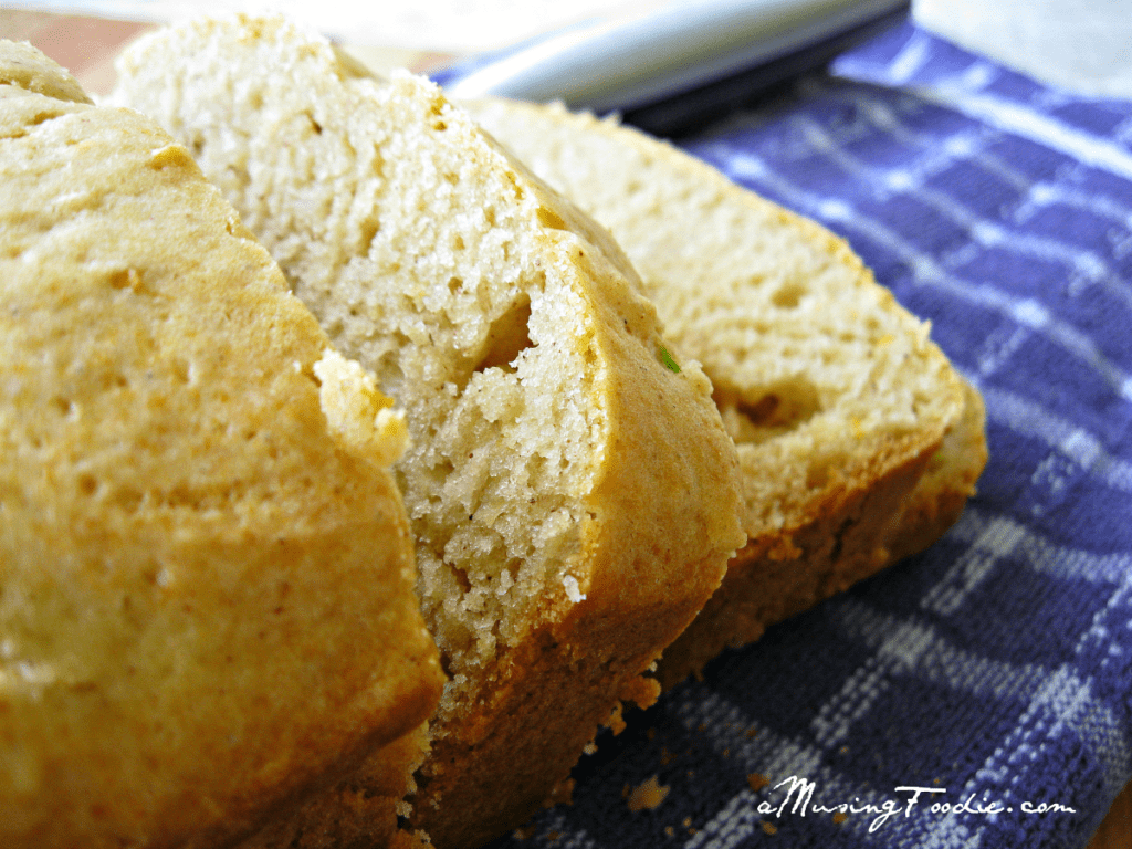 Honey Lemon Zucchini Bread